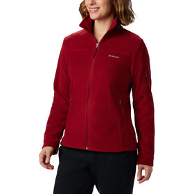 Columbia Fast Trek II Jacket Women beet/daredevil